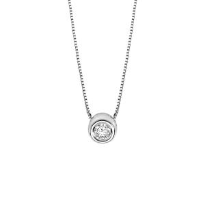 Collana Da Donna Di Comete gioielli Della Collezione Storia Di Luce In Oro bianco 750 ? e diamante