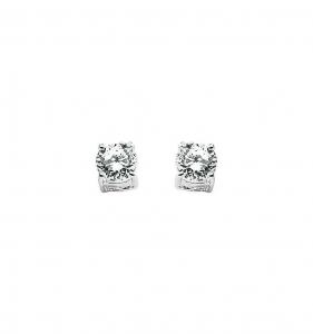 Orecchini donna comete gioielli Storia di Luce In Oro bianco 750 ? e diamanti