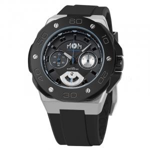 Orologio cronografo uomo in gomma Mom design modello winner chrono