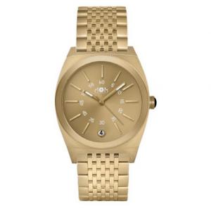 orologio unisex in acciaio oro gold solo tempo con datario mom design collezione primadonna gold
