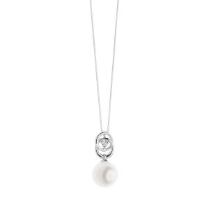 Collana Comete Gioielli con perle e diamanti collezione perle d'amore donna GLP 579