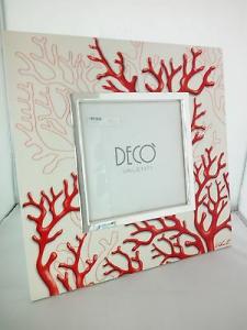 Cornice portafoto Valenti con corallo rosso cod. AA15481.D4