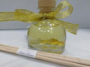 Profumatore con bastoncini Mimì Maison 50 ml Gold 4762