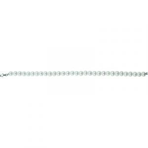 Bracciale donna con perle e chiusura in oro bianco Bliss Prime 20077133