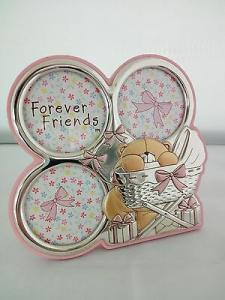 Cornice bimba laminata argento Sequenze Forever Friends cod. FF0171/R