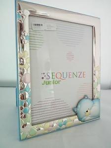 Cornice bimbo laminata argento Sequenze JUNIOR cod. SQ5003/13C