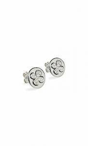 Orecchini in argento 925 con quadrifoglio Jack&Co cod. JCE0264
