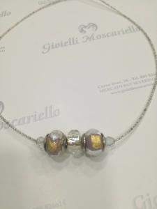 Collana donna La Murrina classica con pietre murano glicine oro Listino 49,90