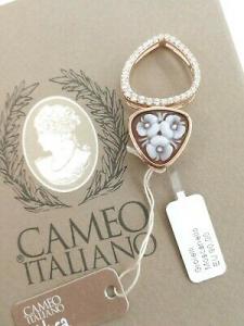 Ciondolo Cameo Italiano con Cameo inciso a mano P95-R
