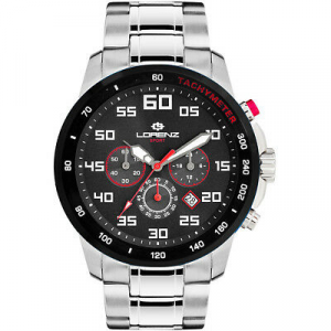 Orologio Cronografo Uomo Lorenz Granpremio Codice: 030048aa