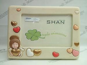 Cornice/portafoto in ceramica Shan cod. F027.0