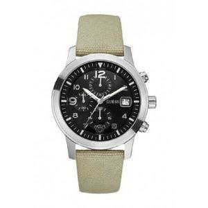 Orologio uomo cronografo  Guess con cinturino in pelle  W11163G1