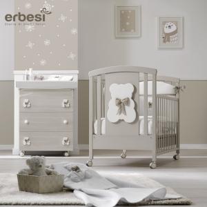 Lettino per bambini Completo linea Bubu by Erbesi