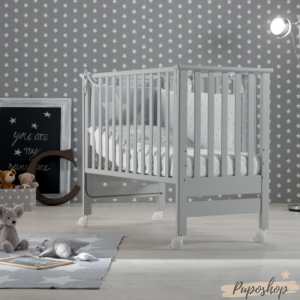 Lettino  linea Contact con funzione co-sleeping by Azzurra Design