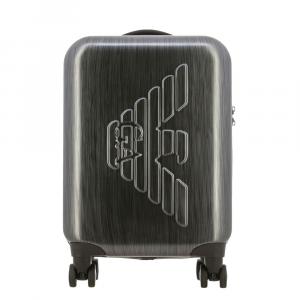 Trolley Emporio Armani Spinnern S rigido con maxi logo