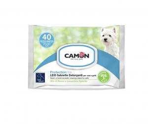 Salviette detergenti LEIS con Olio di Neem e Lavandula Hybrida CAMON