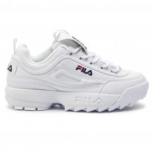 Disruptor Kids Sneakers Fila 8 1010567.1FG.WHITE