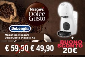 Macchina Nescafè DolceGusto Piccolo XS + BUONO 20€