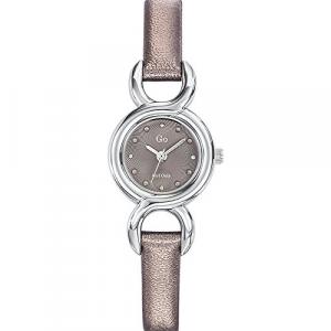 Orologio donna con cinturino in pelle grigio Go Girl 698713