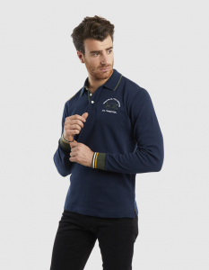 Polo UOMO LA MARTINA COL.NAVY ART.QMP300