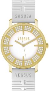 Orologio donna con cinturino in silicone bianco e cassa dorata AL14SBQ7F01A001