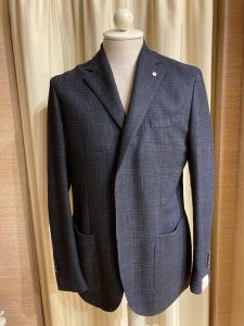 Giacca LBM1911, cotone e lana