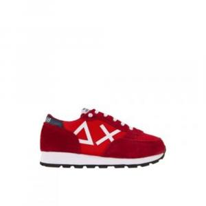 Sun 68 Sneaker rossa kids