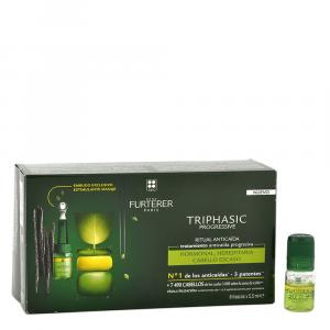Rene Furterer Triphasic progressive fiale anti caduta severa -  confezione 1 mese di trattamento