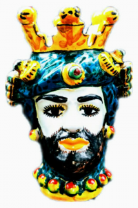 Moro Head with Turban from Caltagirone