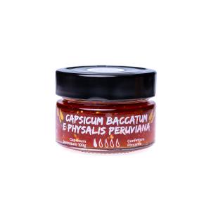 Confettura di Capsicum Baccatum e Physalis Peruviana