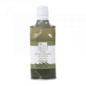 Olio EVO Ogliarola 0,500 cl 2020/21 - Olio extravergine di oliva Pugliese cultivar Ogliarola in Latta da 0,500 cl - Terre di Ostuni