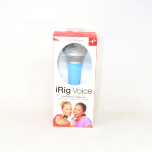Smartphone Microphone And Tablet The Ring Voice,light Blue