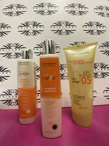 Retrò.specific - Kit capelli ricci Shampoo + Conditioner + Gel 250ml