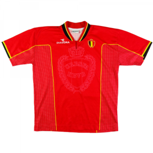 1997-98 Belgium Home Shirt (Top) *Boy