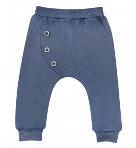 Pantaloni Blu scuri - Goal - bottoni laterali