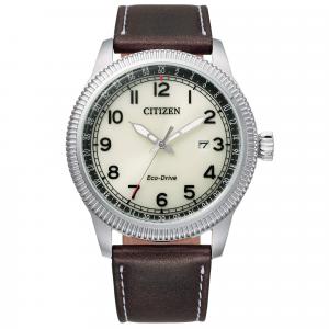 Orologio uomo Citizen Eco Drive Aviator solo tempo BM7480-13X CAL E111