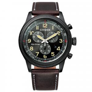 Orologio uomo Citizen Ecodrive Aviator Crono AT2465-18E CAL H500