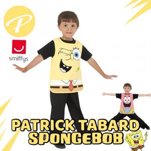 Costume Spongebob/Patrick Reversibile