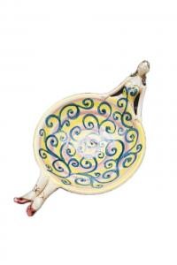 Ceramica di Caltagirone Ciotola Signorina