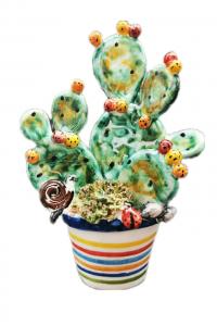Souvenir Basket with Prickly Pear