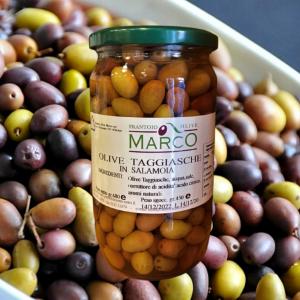 Olive taggiasche in salamoia 450 g