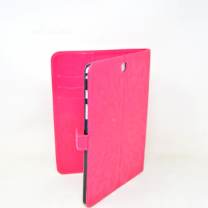 Cover Per Tablet Rosa In Ecopelle 10