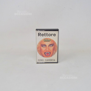 Cassetta Audio Vintage Rettore Estasi Clamorosa