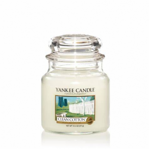 Yankee Candle - Clean Cotton - Giara Media