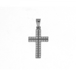 Ciondolo Croce con Zirconi