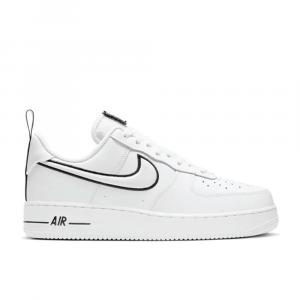 Nike Air Force 1 Nero Bianco da Uomo