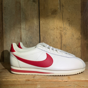 Scarpa Nike Classic Cortez Leather Sail /Gym Red
