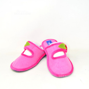 Slippers Woman Inblu N° 38 Pink With Fore