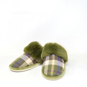 Slippers Pelose Green N°.39-40