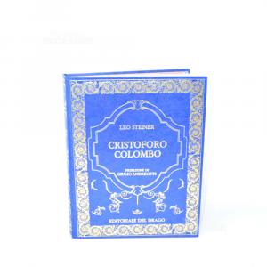 Book Cristoforo Colombo Edition Of Dragon 2 Pieces